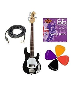 EKO mm305 bajo eléctrico 5 cuerdas con accesorios: Amazon.es: Instrumentos musicales