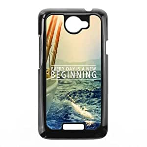 HTC One X Cell Phone Case Black New Beginning Lwthg
