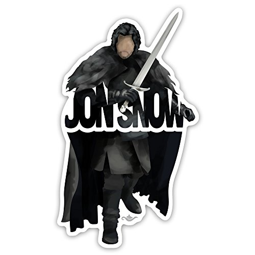 Grantedesigns Jon Snow Sticker From The Game Of Thrones Aegon Targaryen Decal For Laptop Or Any Flat Surface
