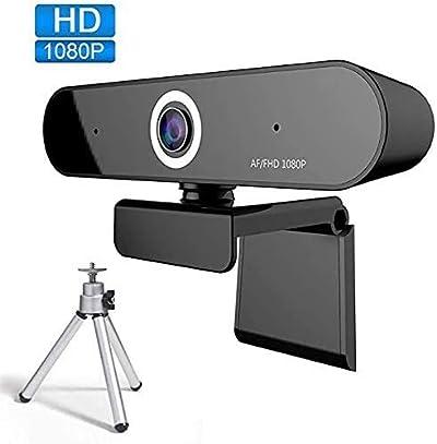 Webcam with Microphone 1080P FUVISION,Stream Webcam,Computer Camera