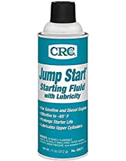 CRC 05671 Jump Start Starting Fluid with Lubricity - 11 Wt Oz. (6 Pack)