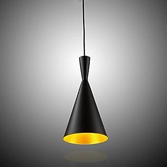 Wohnzimmer Schlafzimmer LED Hngeleuchte Pendelleuchte Lampenschirm Modern Vintage Metall Hhenverstellbar 1x E27 Max 60W