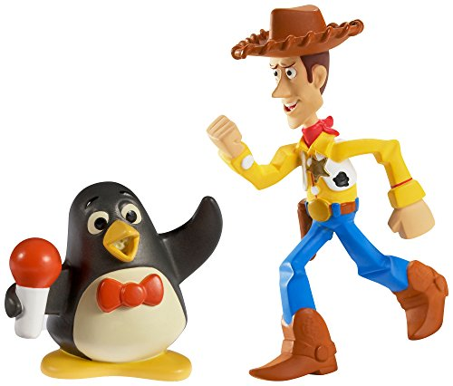 Disney/Pixar Toy Story 20th Anniversary Big Arm Woody and Wheezy Figure Buddy 2-Pack