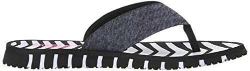 Negro 14258 Go Skechers blanco marino Sandalias vitalidad Azul Flex RAZccUTqw4