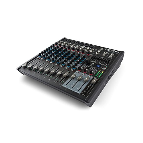 Denon DN-412X | 12 Channel 7 Microphone Preamplifier Tabletop Console Mixer ()