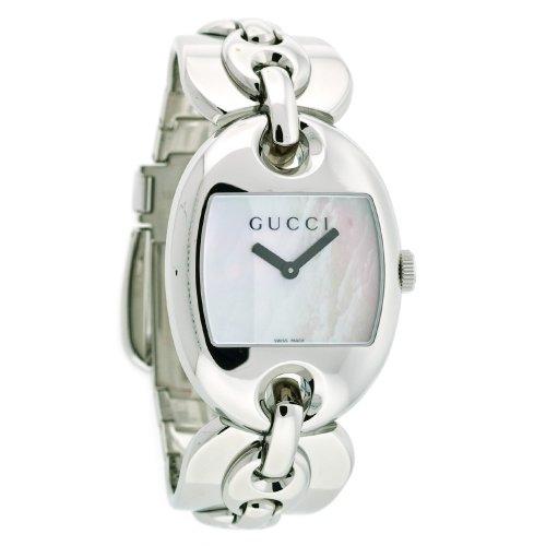 Gucci Marina Chain (GUCCI Women's YA121302 121 Marina Chain Quartz Watch)