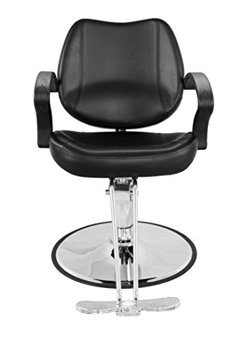 Exacme Classic Hydraulic Barber Chair Salon Beauty Spa Styling Black 8801BK by Exacme