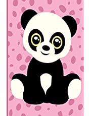 """Panda Bear Journal: Panda Bear Journal: 120 Pages 6""""x9"""" Blank Lined Notebook, Planner or Diary"""