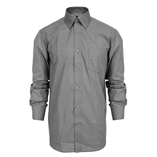 dress shirts that go with grey suits - 1