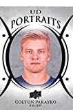 2018-19 Upper Deck Portraits Hockey Card #P-20 Colton Parayko St. Louis Blues Official UD Trading Card