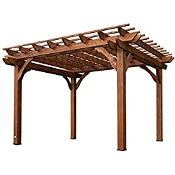 Backyard Discovery Cedar Pergola 12' by 10'