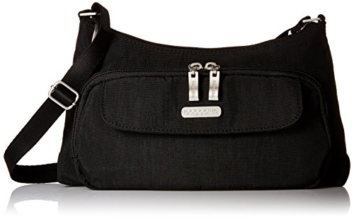 Baggallini Everyday Crossbody Bagg Bag, Black, One Size