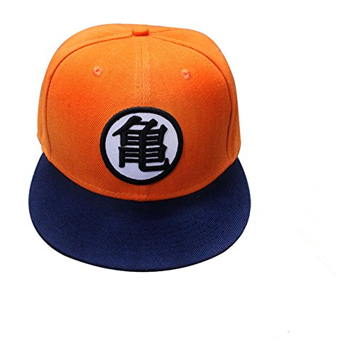 Anime Dragon Ball Z Goku Hat Baseball Cap Sunhat Men Cool Hip-hop Hat (Goku Costume Adult)