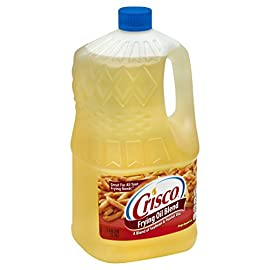 Crisco Frying Oil Blend, 1 Gallon 18 From Fish to French fries, Crisco Frying Oil Blend is ideal for all your frying needs Kosher Pareve Our ideal frying blend of oils that perfectly fries anything from fish and French fries to turkeys and tofu