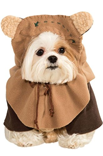 [8eighteen Star Wars Ewok Pet Halloween Costume] (Ewok Star Wars Costume)