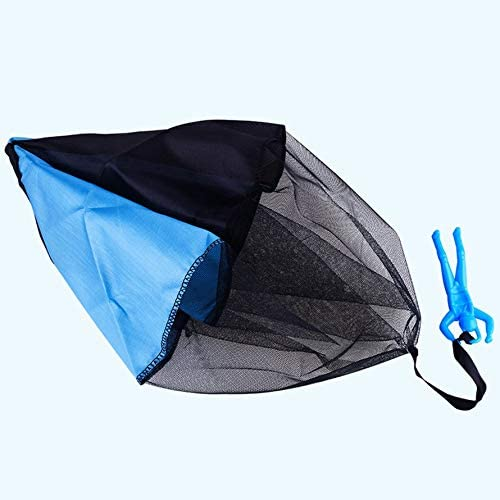 No//brand Funny Design Kids Hand Throwing Parachute Toy for Children Educational Parachute with Figure Soldier Outdoor Play Game