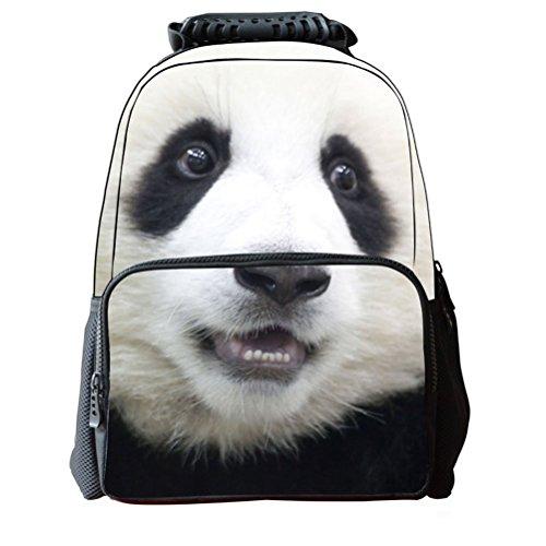 Pixnor Mochila escolar unisex bolsos recorrido 3D de la impresión Animal senderismo Daypacks