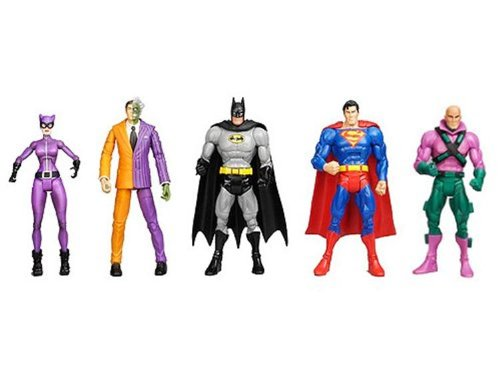 DC Universe Classics Exclusive Action Figure 5-Pack Gotham City 5 (Superman, Batman, Lex Luthor, CatDonna and Two-Face)