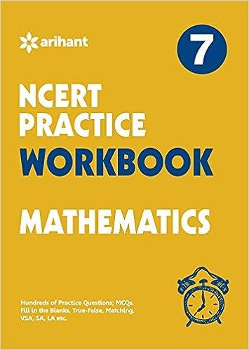NCERT Practice Workbook Mathematics Class 7th: Amazon in