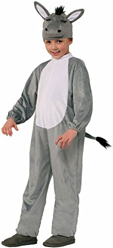 Nativity Animal Costumes (Forum Novelties Nativity Donkey Costume, Child Large)