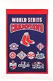 Winning Streak Boston Red Sox 2018 MLB World Series Champions Champs Banner