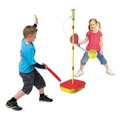 (Championship Classic, Lightweight, Fun For All Family Swingball Set- Includes a Tail Ball For a Bonus Beach or Backyard Game.)