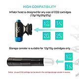 CYCPLUS CO2 Inflator with Cartridge Storage