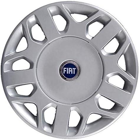 Generico Fiat Multipla Uno COPRICERCHIO BORCHIA Diametro 15 CODICE 1258 Logo Blu 1