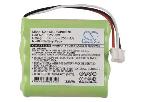 CameronSino Replacement Battery for Pronto Pro 900,TSU7000/37 Control Backup Battery 750mAh/3.60Wh/4.8V, Green