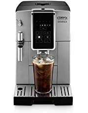De'Longhi ECAM35025SB Dinamica TrueBrew Over Ice Fully Automatic Coffee and Espresso Machine, with Premium Adjustable Frother, Stainless Steel