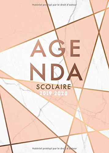 Amazon.com: Agenda Scolaire 2019 - 2020: Agenda de Août 2019 ...