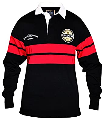 Amazon.com: Guinness Black & Red Toucan Rugby, Large: Clothing