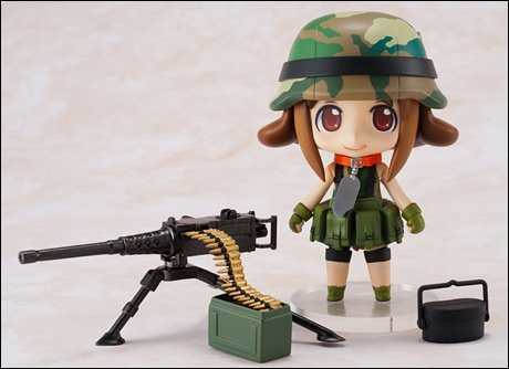Nendoroid Hobby Channel Limited Armys (non-scale ABS & PVC painted action figure) (japan import)