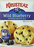 Krusteaz Wild Blueberry Supreme Muffin Mix, 17.1-Ounce Boxes (Pack of 2)