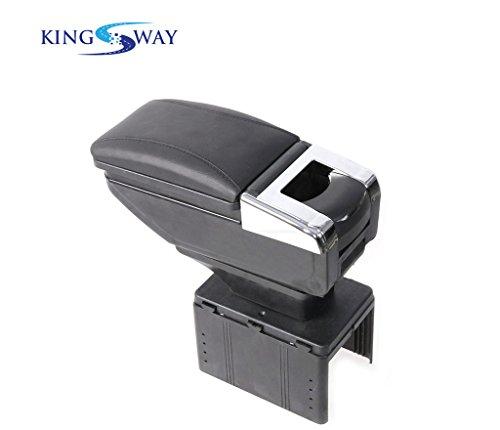 Kingsway kkmcarmtrybk00038 Car Armrest for Nissan Terrano  Black