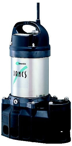 Gph Waterfall (Tsurumi Pump 50PN2.75S (8-PN) 8PN 1/3 hp, 115V, submersible pond & waterfall pump, stainless steel, 5550 GPH, 2