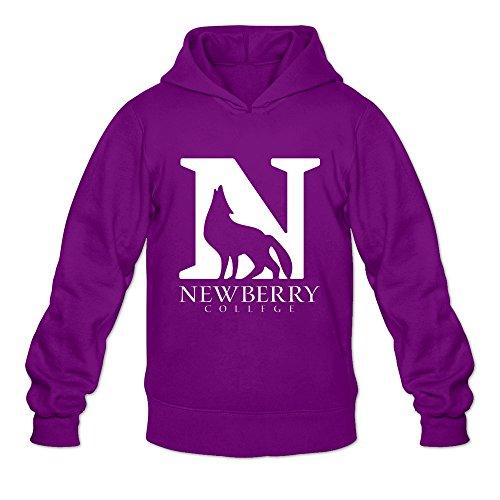 Tavil Newberry College Casual Hoodies For Man Purple Size - Boston Newberry