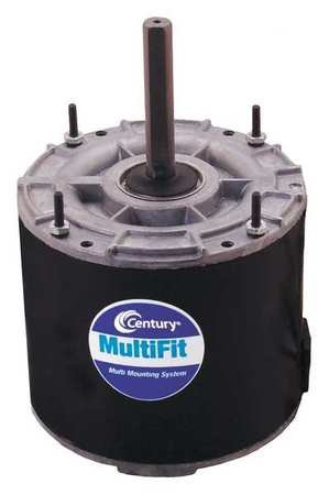 Condenser Fan Motor, 1/6to1/4HP, 1075 rpm by Century