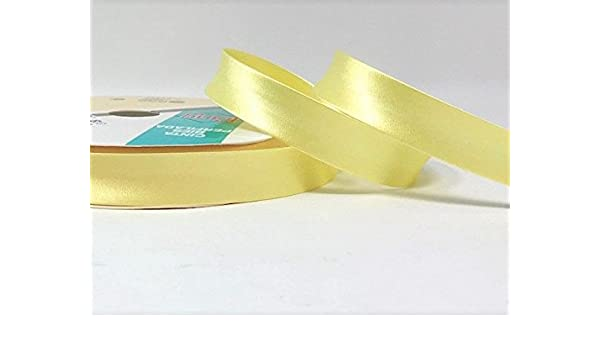 Per Metre White 18mm Wide Satin Bias Binding