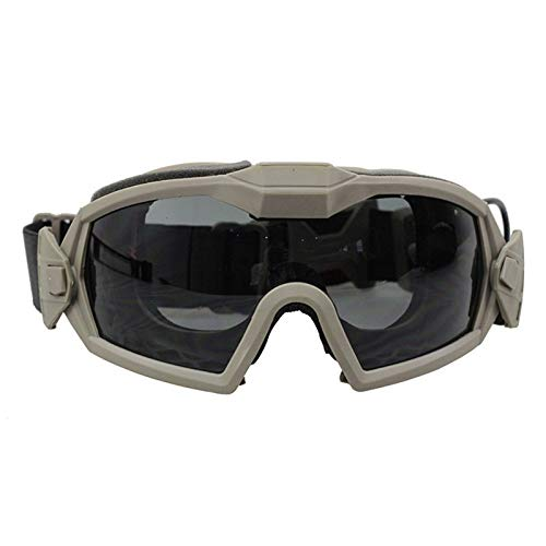 (Culturemart Regulator Goggle with Fan Updated Version Tactical Airsoft Paintball Ski Eyewear Anti-Dust Anti-Fog Eye Protection)