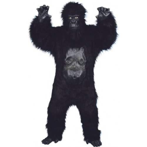 Deluxe Gorilla Costume - One Size - Chest Size 40-48