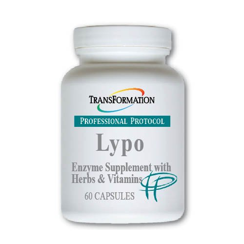 Transformation Enzymes Lypo 60 Capsuls - #1 Practitioner Recommended - Supports Weight Management, and The Digestion of Fats,