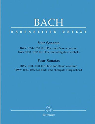 Bach: Four Flute Sonatas, BWV 1030, 1032, 1034, 1035