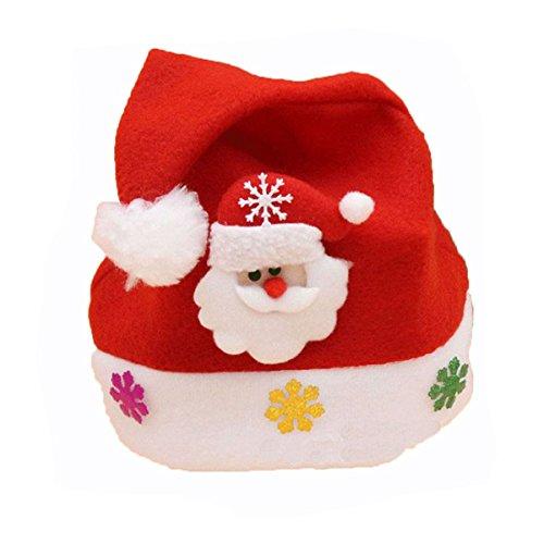 Classic Red Santa Claus Hat Caps Xmas Festival Party Cap