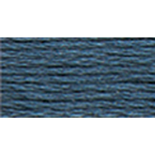 DMC 117-930 6 Strand Embroidery Cotton Floss, Dark Antique Blue, 8.7-Yard (Antique Dmc Floss)