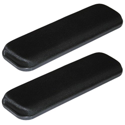 3.5'' X 14'' GEL Arm Pads for Wheelchair Armrest or Office Chair - Pair by Falcon GEL