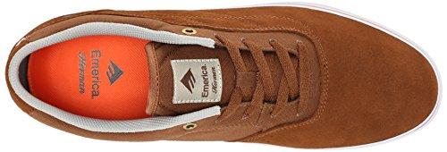 EmericaHerman G6 Vulc - Zapatillas de Deporte Hombre Marrón - Marron (Brown/Orange 222)