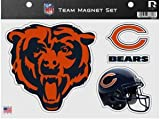 Rico Industries NFL Chicago Bears Die Cut Team Magnet Set Sheet