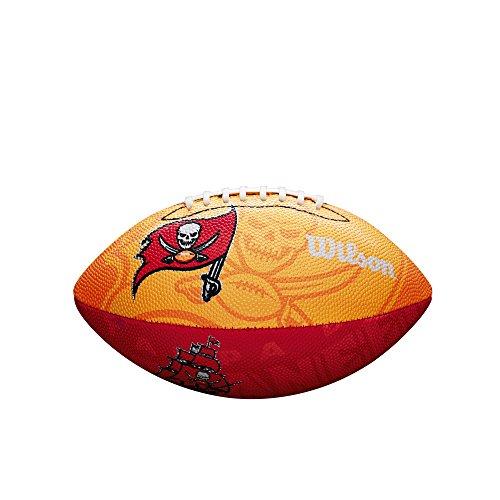 Wilson NFL Junior Team Logo Football (Tampa Bay Bucaneers)