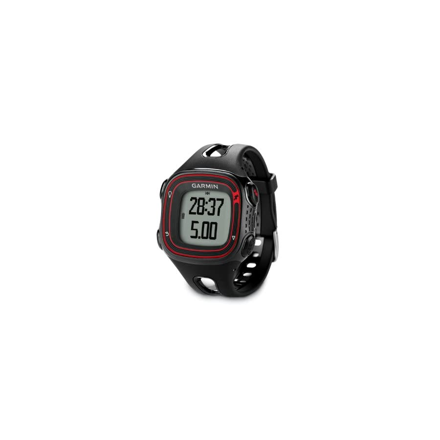 Garmin Forerunner 10 GPS Watch Black/Red (Certified Refurbished)
